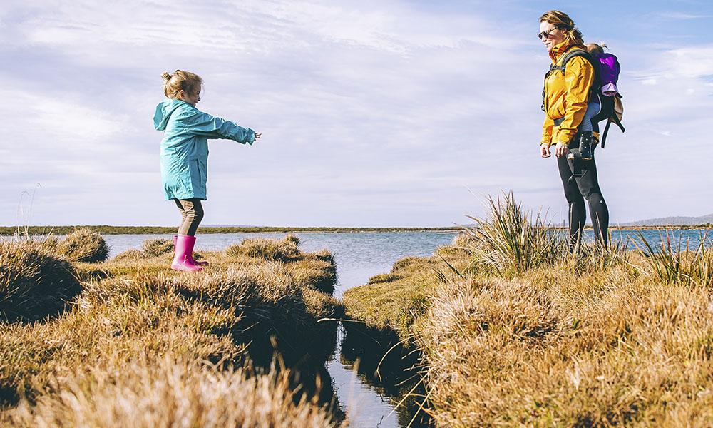 viajar con niños pequeños