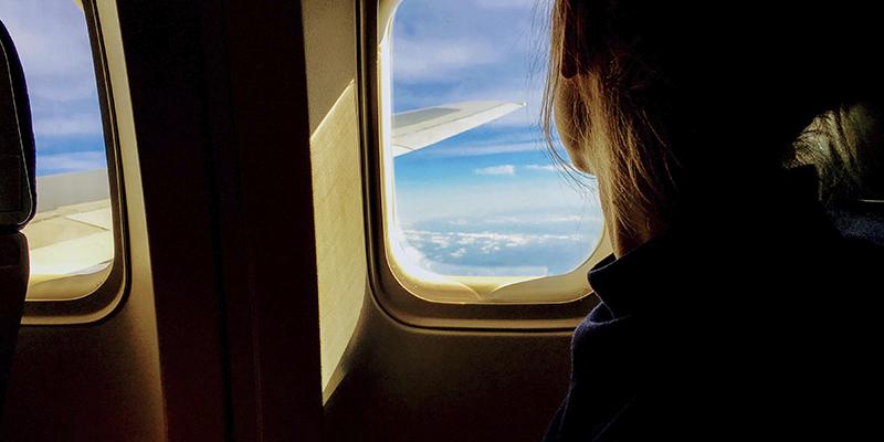 Viajar embarazada en avión