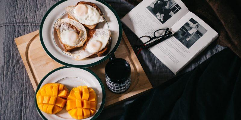 Desayuno a la cama