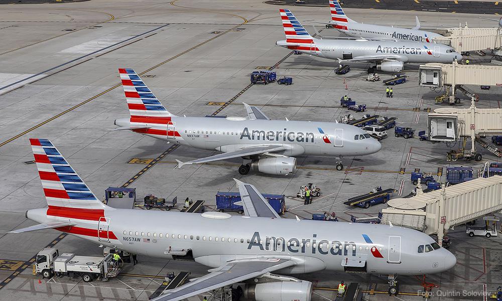 American Airlines ofrece licencia sin sueldo a sus empleados por coronavirus