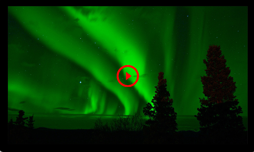 Ve las auroras boreales en vivo con este streaming