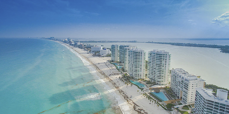Cierran hoteles de Cancún por coronavirus
