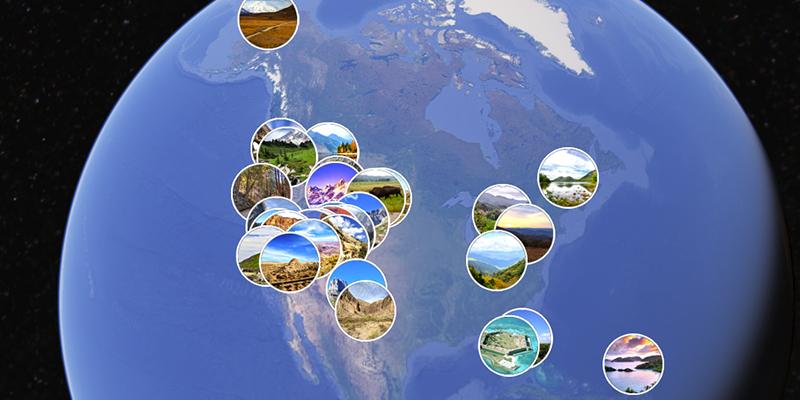 Recorrido virtual por los parques nacionales de Estados Unidos