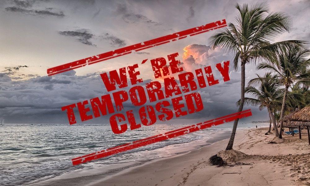 Playas de México cerradas por el Covid-19