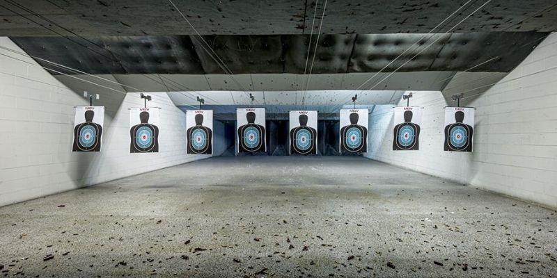 Atrévete a practicar tiro en Las Vegas