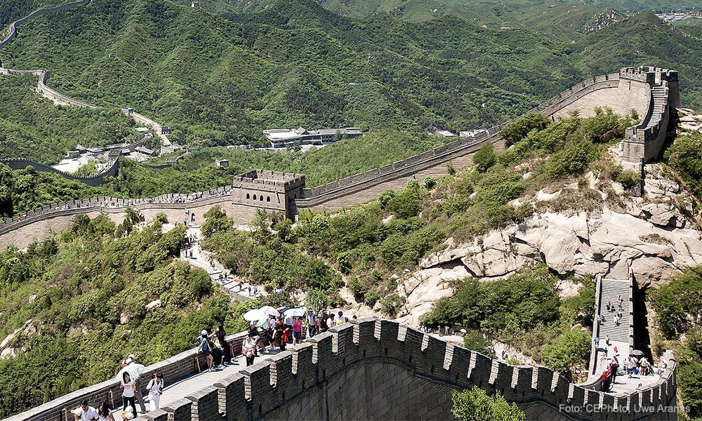Tras coronavirus, reabre la sección Badaling de la Muralla China