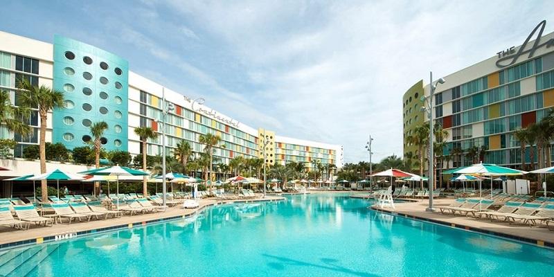 Cierran hoteles de Universal Orlando Resort
