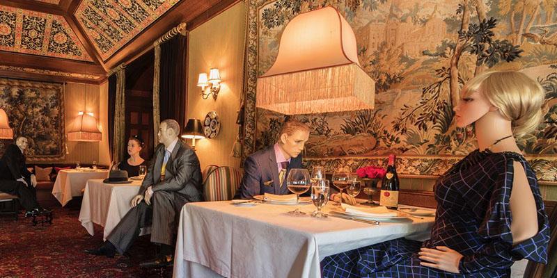 Distanciamiento social en restaurantes alrededor del mundo
