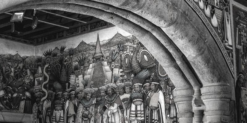 murales Palacio de Gobierno