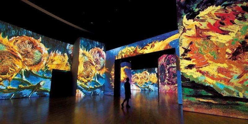 ¿Cuándo reabre Van Gogh Alive The Experience?