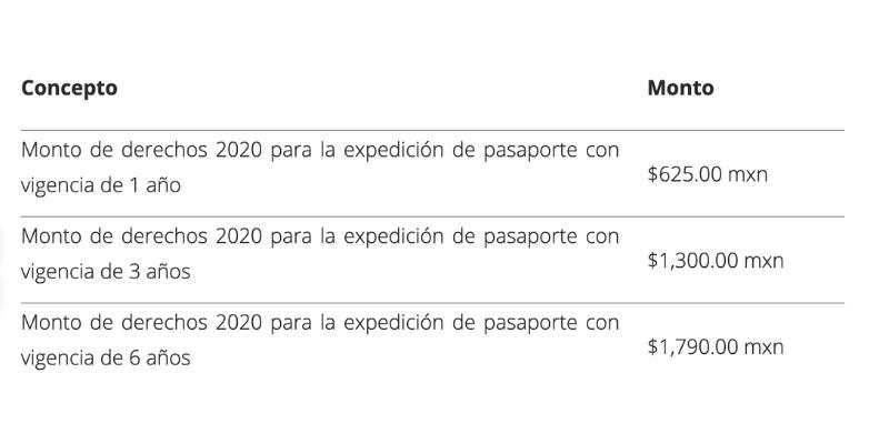 ¿Cómo sacar un pasaporte mexicano para niños y cuánto cuesta?