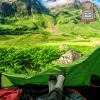 ¿Cómo acampar por primera vez?