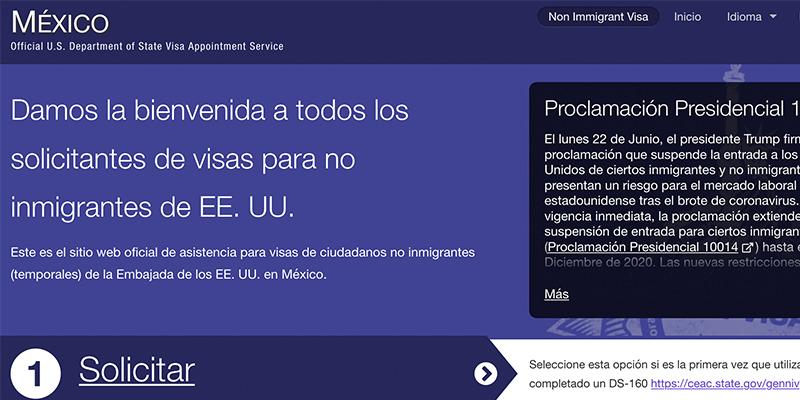 ¿Cómo sacar la visa de Estados Unidos para niños?