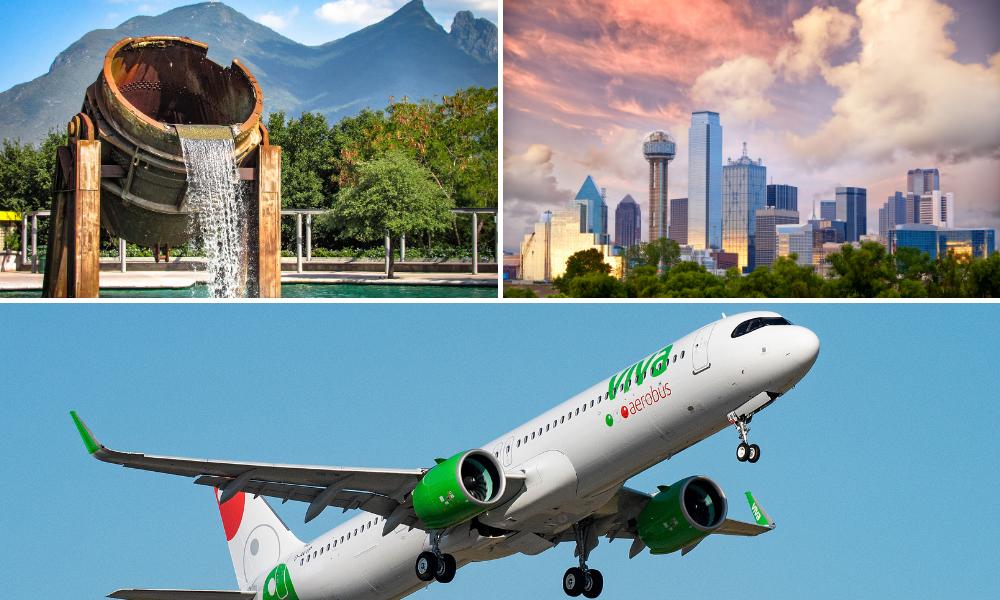 Nueva ruta Monterrey - Dallas Fort Worth
