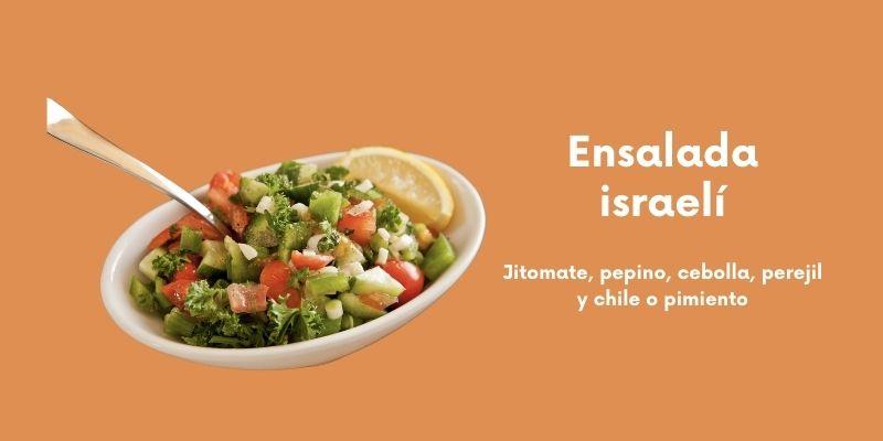 Platos típicos que comer en Israel