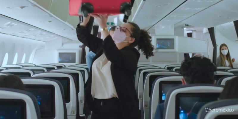 ¿Es seguro viajar con Aeroméxico?