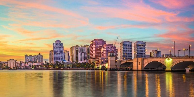 10 ciudades imperdible en The Palm Beaches, Florida