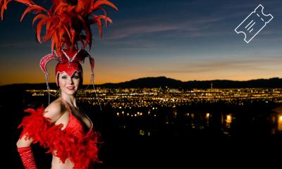 La historia del entretenimiento en Las Vegas