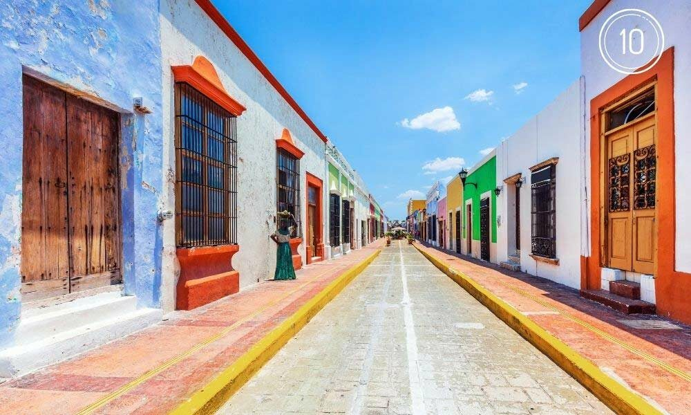 campeche top ten ciudad capital
