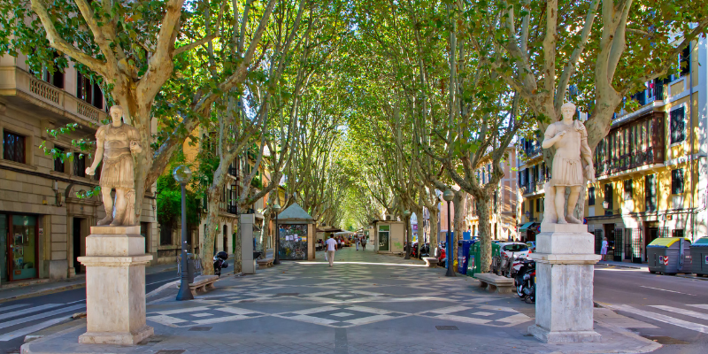 espana calles mas bonitas