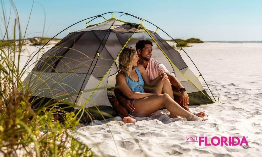 sitios para hacer camping en Florida