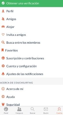 couchsurfing app review