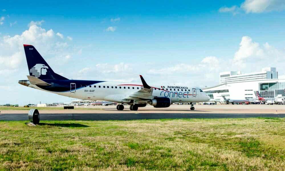 Aeroméxico aterriza nuevamente en el aeropuerto DFW