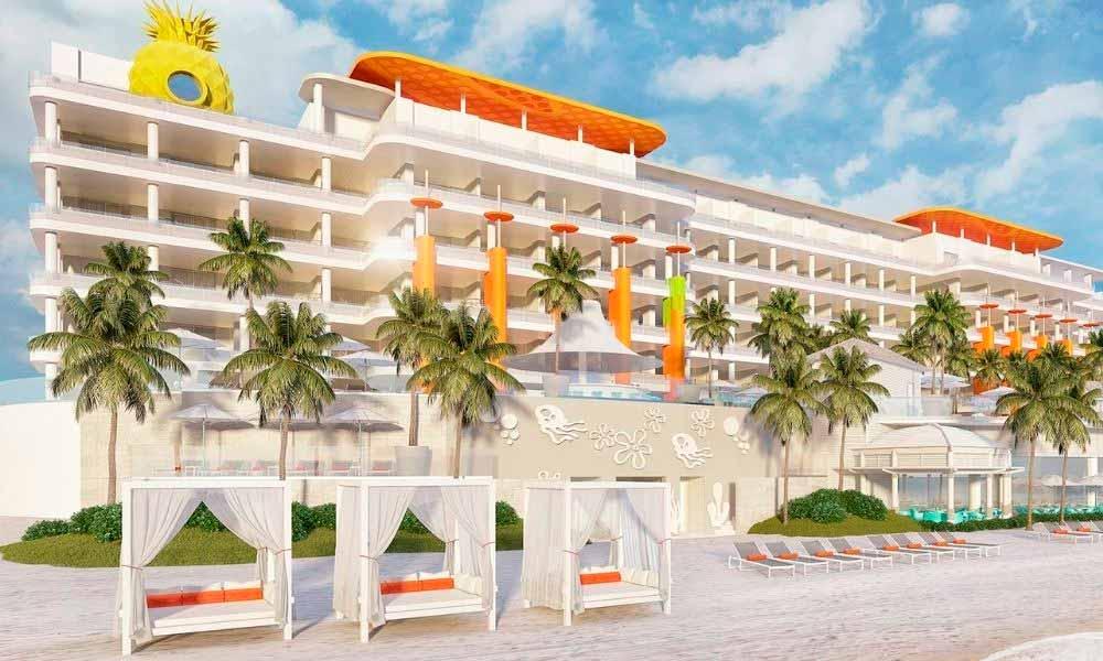 Así será el hotel Nickelodeon en Riviera Maya